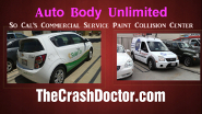 commercial vehicle auto body repair paint video